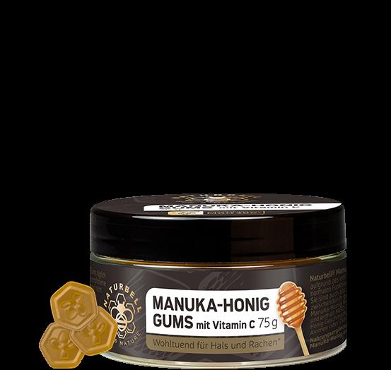 Naturbell Manuka-Honig Gums mit Vitamin C